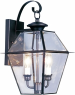 Livex 2281-04 Westover Black Exterior Lighting Sconce