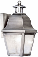 Livex 2550-29 Amwell Vintage Pewter Outdoor Sconce Lighting