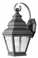 Livex 2601-04 Exeter Black Outdoor Lighting Sconce
