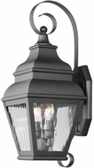 Livex 2602-04 Exeter Black Outdoor Wall Sconce Lighting