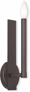 Livex 40241-07 Alpine Contemporary Bronze Wall Light Sconce