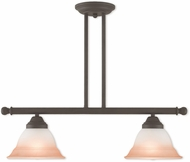 Livex 40722-07 Wynnewood Bronze Kitchen Island Lighting
