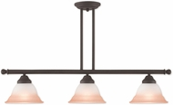 Livex 40726-07 Wynnewood Bronze Kitchen Island Light