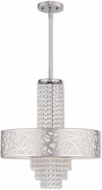 Livex 40766-05 Allendale Polished Chrome 18  Drum Drop Ceiling Lighting