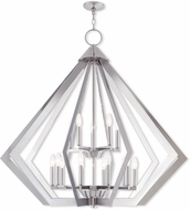 Livex 40928-05 Prism Contemporary Polished Chrome Chandelier Lighting