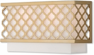 Livex 41102-33 Arabesque Soft Gold 13  Sconce Lighting
