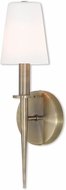 Livex 41692-01 Witten Antique Brass Wall Lighting Sconce