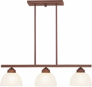 Livex 4226-70 Somerset Vintage Bronze Kitchen Island Light Fixture