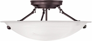 Livex 4273-07 Oasis Bronze Ceiling Lighting