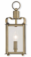 Livex 43000-01 Garfield Antique Brass ADA Light Sconce