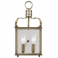 Livex 4311-01 Garfield Antique Brass ADA Wall Sconce Lighting
