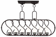 Livex 47196-67 Westfield Modern Olde Bronze Kitchen Island Light