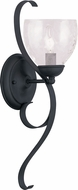 Livex 4808-04 Brookside Black Wall Sconce Lighting