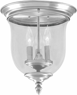 Livex 5021-91 Legacy Brushed Nickel Overhead Lighting