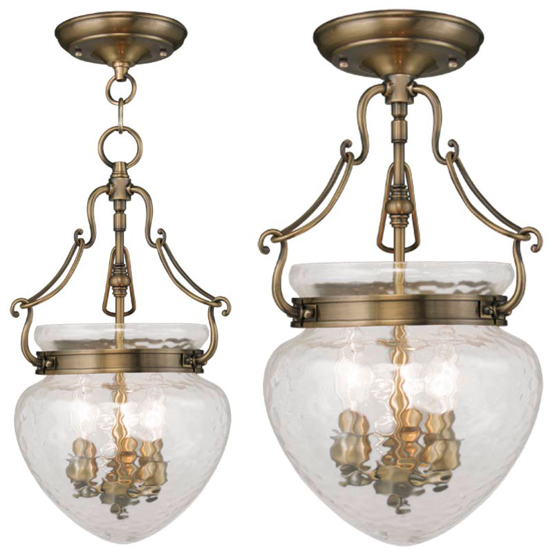 Antique Foyer Lighting Fixtures : Livex duchess antique brass foyer lighting