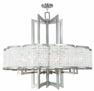 Livex 50579-91 Grammercy Brushed Nickel Chandelier Lighting
