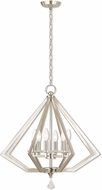 Livex 50666-35 Diamond Polished Nickel Chandelier Lighting