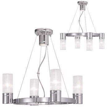 Livex 50694 05 midtown contemporary polished chrome mini chandelier livex 50694 05 midtown contemporary polished chrome mini chandelier lighting aloadofball Images