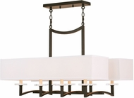 Livex 50709-67 Woodland Park  Modern Olde Bronze Kitchen Island Light