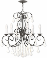 Livex 50766-92 Donatella English Bronze Chandelier Lighting