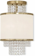 Livex 50792-28 Prescott Hand Applied Winter Gold Ceiling Light