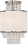 Livex 50792-91 Prescott Brushed Nickel Ceiling Light Fixture