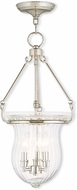 Livex 50944-35 Andover Polished Nickel Foyer Lighting