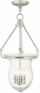 Livex 50946-35 Andover Polished Nickel Entryway Light Fixture