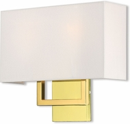 Livex 50990-02 Pierson Polished Brass 13  Wall Sconce Lighting