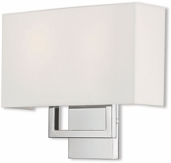 Livex 50990-05 Pierson Contemporary Polished Chrome Wall Lighting