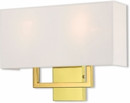 Livex 50991-02 Pierson Polished Brass 16  Lighting Wall Sconce