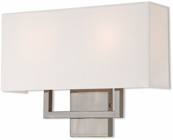 Livex 50991-91 Pierson Modern Brushed Nickel Lighting Sconce