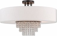 Livex 51098-92 Carlisle English Bronze 22  Ceiling Lighting
