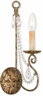 Livex 51901-36 Isabella Hand Applied European Bronze Wall Sconce Lighting