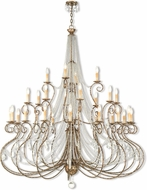 Livex 51920-36 Isabella Hand Applied European Bronze Hanging Chandelier