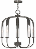 Livex 51935-92 Addison Contemporary English Bronze Mini Chandelier Lighting