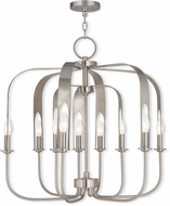 Livex 51938-91 Addison Modern English Bronze Chandelier Light