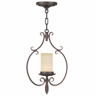 Livex 5480-58 Millburn Manor Imperial Bronze Mini Lighting Pendant
