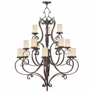 Livex 5497-58 Millburn Manor Imperial Bronze Chandelier Light