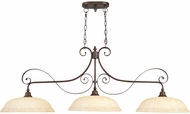 Livex 6154-58 Manchester Imperial Bronze Island Lighting