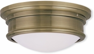 Livex 7342-01 Astor Antique Brass 13  Overhead Lighting Fixture