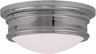 Livex 7342-05 Astor Polished Chrome 13  Ceiling Lighting