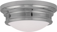 Livex 7343-05 Astor Polished Chrome 15.5  Ceiling Light Fixture