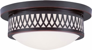 Livex 7352-67 Westfield Olde Bronze 13  Flush Mount Lighting Fixture