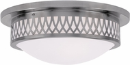 Livex 7353-91 Westfield Brushed Nickel 15  Home Ceiling Lighting