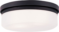 Livex 7392-07 Stratus Bronze 13  Flush Lighting