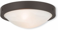 Livex 73951-07 New Brighton Bronze 12.25  Flush Ceiling Light Fixture