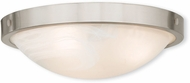 Livex 73952-91 New Brighton Brushed Nickel 16.5  Overhead Light Fixture