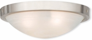 Livex 73953-91 New Brighton Brushed Nickel 20.5  Ceiling Lighting