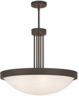 Livex 73965-07 New Brighton Bronze 24  Pendant Hanging Light